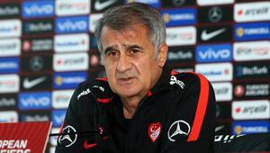 Son dakika: A Milli Takım Teknik Direktörü Şenol Güneş açıkladı 8 futbolcu yok, 3 yeni isim...