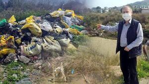 Çamlıçay Deresi çöplüğe döndü Risk giderek artıyor, vatandaşlar tedirgin