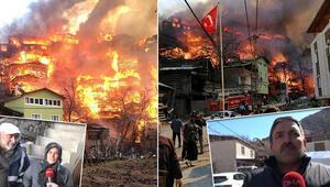 Artvindeki yangında çok sayıda ev zarar görmüştü... Köy halkından duygulandıran çağrı