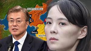 Kuzey Kore liderinin kız kardeşi Kimden, Güney Kore Devlet Başkanına ABDnin papağanı benzetmesi