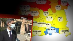 Türkiyenin tek mavi ili Şırnak... İl Sağlık Müdürü başarılarının sırrını anlattı