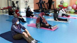 Vanda kadınlardan spor kurslarına yoğun ilgi