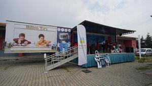 Balıkesir Büyükşehir Belediyesi Bilim TIR'ı yolculuğuna başladı