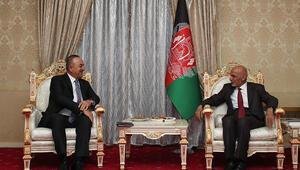 Bakan Çavuşoğlu, Tacikistan'da Afganistan lideri ile görüştü