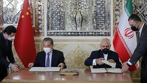 İranda Çin ile imzalanan iş birliği anlaşması protesto edildi