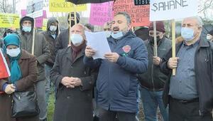 İBB önünde protesto Verilen sözler tutulsun