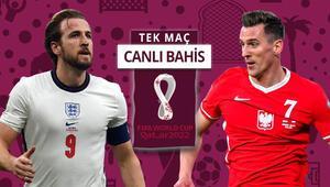 Polonyada Lewandowski yok, artı 2 oyuncu da korona pozitif İngilterenin iddaa oranı...