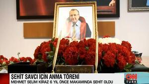 Şehit Savcı Kiraz ölümünün 6ncı yılında adliyede anıldı