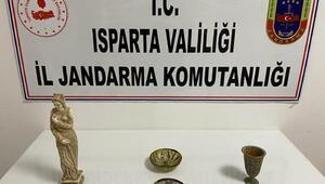 Ispartada tarihi eser operasyonu