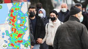 Kocaelideki koronavirüs vaka artışı HES haritasına da yansıdı