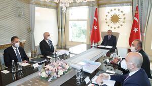 Cumhurbaşkanı Erdoğan, Azerbaycan Başbakan Yardımcısı Mustafayevi kabul etti