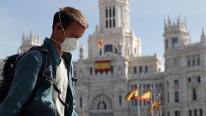 İspanyada son 24 saatte koronavirüse bağlı ölenlerin sayısı 154 oldu