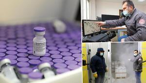 2.8 milyon doz BioNTech aşısı depolarda