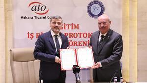 ATO ve GÜ arasında eğitim iş birliği