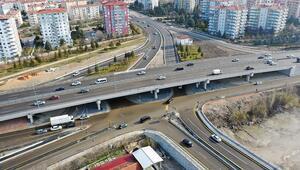 Ayaş Yolu ve Hasköy'e iki köprülü kavşak