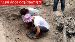 İstanbulda 12 yıl önce başlatılmıştı 800 bin yıl öncesinin yaşam izleri var