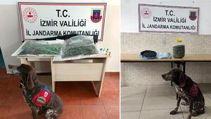 İzmirde uyuşturucuya 2 gözaltı