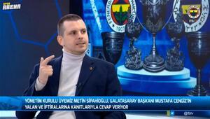 Metin Sipahioğlundan Mustafa Cengize yanıt Ortada büyük bir yalan var...