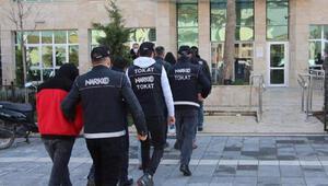 Tokat merkezli uyuşturucu operasyonunda 7 tutuklama