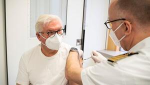 Cumhurbaşkanı Steinmeier Kovid-19 aşısı oldu