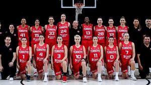 A Milli Kadın Basketbol Takımının Avrupa Şampiyonası maç programı açıklandı