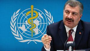 Son dakika haberi: Sağlık Bakanı Fahrettin Koca, DSÖnün medya brifinginde anlamlı mesaj: Tüm insanlığın şükran duyduğu insanlarsınız...