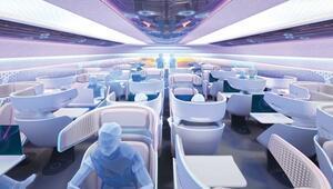 Pandemiden etkilenip tasarladılar... Uçuşlarda yeni dönem