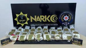 Siverek'te uyuşturucu operasyonuna 10 tutuklama