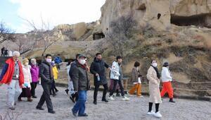 Kapadokyaya mart ayında 101 bin 313 turist ziyareti