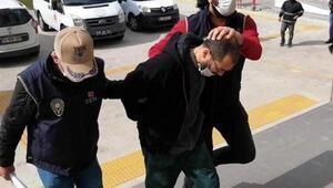 Atatürk büstlerine saldıran şahıs tutuklandı