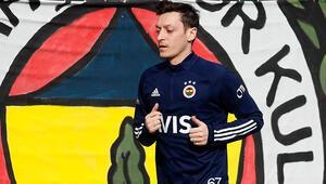 Fenerbahçeye Mesut Özil müjdesi Sahaya indi