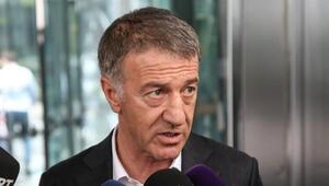 Trabzonspor Başkanı Ahmet Ağaoğlundan flaş açıklamalar Transfer, MHK ve TFF...
