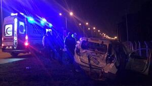 Samsunda araçlar birbirine girdi 4 yaralı