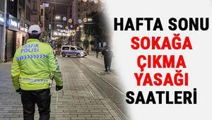 Hafta sonu sokağa çıkma yasağı hangi illerde var Pazar günü sokağa çıkma yasağı var mı 3-4 Nisan (cumartesi-pazar) sokağa çıkma yasağı saati