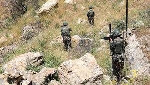 MSB: Irak kuzeyinde PKKya ait silah ve mühimmat ele geçirildi
