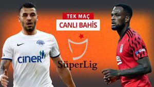 Eksikler sonrası Beşiktaştan sağ kanat sürprizi Kasımpaşaya karşı galibiyetlerine iddaada...