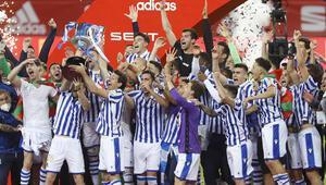 Kral Kupasının ertelenen 2020 finalini Real Sociedad kazandı