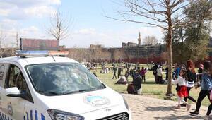 Koronavirüs vaka sayının arttığı Diyarbakırda denetimler sıklaştırıldı
