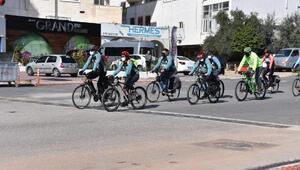 Mersinli bisikletliler güvenle yol alıyor