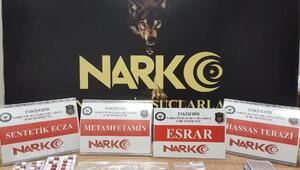 Eskişehir'de uyuşturucu satan 2 şüpheli yakalandı