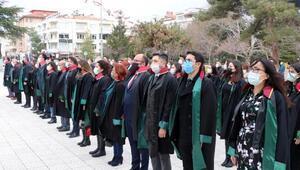 Burdurda Avukatlar Günü töreni