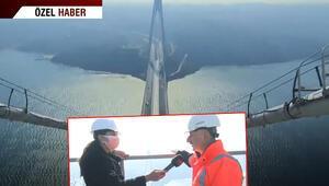 Nefes kesen anlar... CNN TÜRK, 322 metre yüksekteki o kuleye çıktı