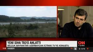 Selçuk Bayraktar Azerbaycan televizyonuna TB3ü anlattı
