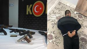 İzmir ve Manisada suç örgütü operasyonunda 32 gözaltı