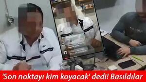Bir kişi sosyal medya üzerinden canlı yayınla kaçak ürünler sattığı sırada yakalandı