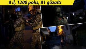 Ankara merkezli 8 ilde uyuşturucu satıcılarına Vadi operasyonu