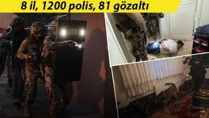 Ankara merkezli 8 ilde uyuşturucu operasyonu... Çok sayıda gözaltı