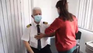 THY uçuş ekiplerine, Kovid-19 aşısı uygulanmaya başlandı