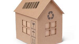 Kartondan ev nasıl yapılır Basit malzemelerle kartondan ev yapımı