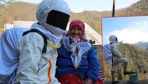 Rizeli astronotlar sosyal medyada ilgi görüyor